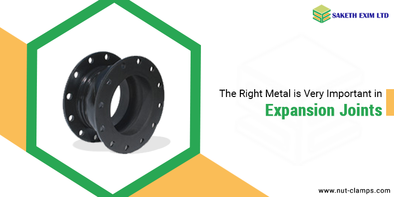 Right Metal in Expansion Joints
